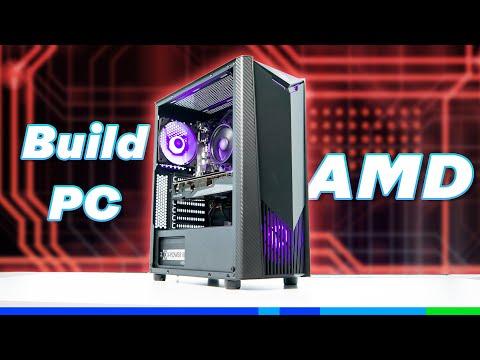 Build PC nhà AMD 5600X + 6700XT lúc này là hợp lý!