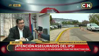 Beneficiarios del IPS bloqueados deben tramitar reactivación