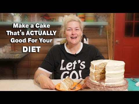 Make a Cake That's ACTUALLY Good For Your DIET