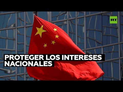 China sancionará a empresas de EE.UU. por la venta de armas a Taiwán