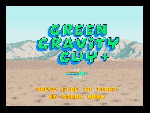 Green Gravity Guy+