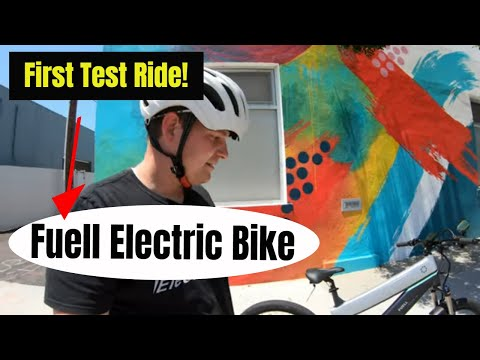 Fuell Fluid Electric Bike - First ride and impressions!