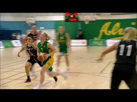 Highlights från första kvartsfinalen Alvik Basket - Visby Ladies