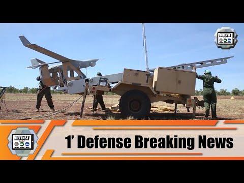 U.S. Marine conducts first flight of RQ-21A Blackjack UAV in Australia