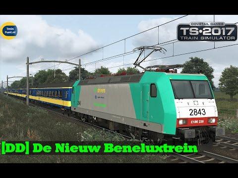 [DD] De Nieuw Beneluxtrein | NMBS 2843 | Train Simulator 2017