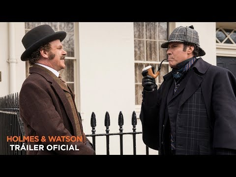 HOLMES & WATSON. Tráiler Oficial HD en español. En cines 4 de enero.