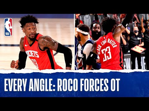 Every Angle: Robert Covington With The CLUTCH TIP-IN To Force OT In Orlando‼