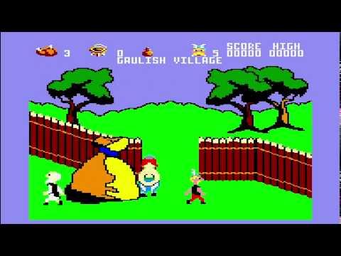 Astérix y el Caldero Mágico - Amstrad CPC Longplay