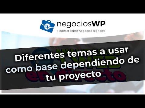 Diferentes temas #WordPress a usar como base dependiendo de tu proyecto