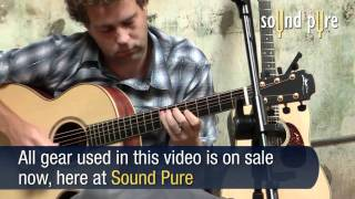 Lowden F35 Cuban Mahogany/Adirondack Acoustic Guitar Demo Video