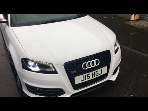 Audi S3 Wrapped Gloss White 3m