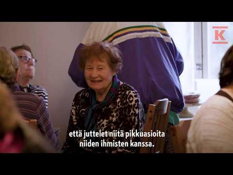 Toisen ihmisen kohtaaminen on tärkeää. K-Market Landenin kauppias Miikka Landen halusi mahdollistaa kyläläisten tapaamiset ja perusti yhdessä paikallisen seurakunnan kanssa Lohjan Saukkolaan koko kylän yhteisen olohuoneen. #pienisuuriteko  K-ryhmä on suomalainen kaupan alan edelläkävijä. Toimimme päivittäistavarakaupassa, rakentamisen ja talotekniikan kaupassa sekä autokaupassa. Toimialamme ja ketjumme toimivat tiiviissä yhteistyössä kauppiasyrittäjien sekä muiden kumppaneiden kanssa. Kesko ja K-kauppiaat muodostavat K-ryhmän.  K - Jotta kaupassa olisi kiva käydä.   Lue lisää:  www.kesko.fi https://kesko.fi/vuosiraportit https://kesko.fi/annual-reports  Seuraa meitä sosiaalisessa mediassa: Facebook: https://www.facebook.com/Kryhma/ Twitter: https://twitter.com/kryhma Instagram: https://www.instagram.com/kryhma/ LinkedIn: https://www.linkedin.com/company/kesko