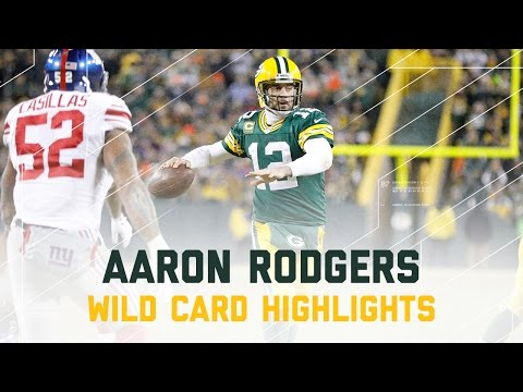 Aaron Rodgers 362 Yards & 4 TDs! | Giants vs. Packers | NFL Wild Card Player Highlights