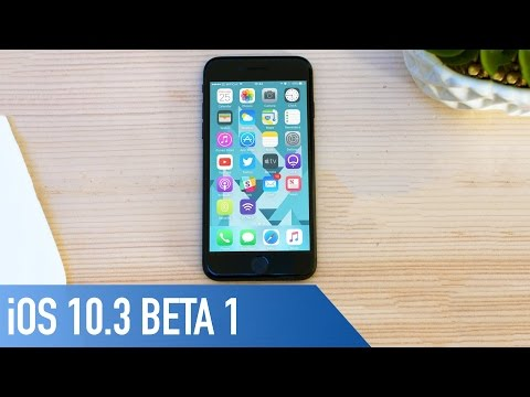 iOS 10.3 Beta 1 | What's New?
