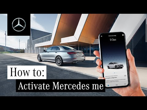 How to Activate Mercedes me at Your Mercedes-Benz Partner