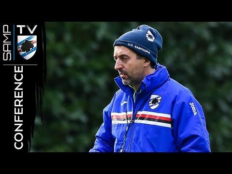 Sampdoria-Roma: la conferenza stampa di Giampaolo