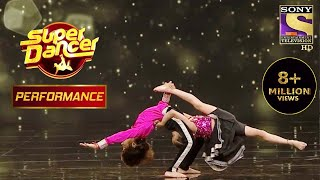 Mrigank और Mrigankshi के अनोखे Head Stand ने किया Surprise | Super Dancer Chapter 2 - SETINDIA