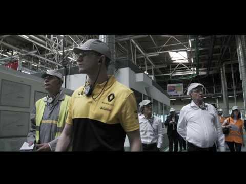 La Formule 1 à la rencontre des collaborateurs Renault I Groupe Renault