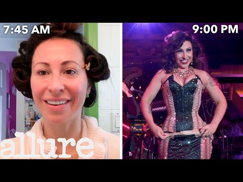 A Burlesque Dancer's Entire Routine, From Waking Up to Showtime | Allure