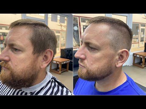 Разбор мужской стрижки и бороды photo