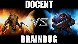 Docent (Z) VS [fastgg]BrainBug (T) -- Starcraft 2 [LAGTV]