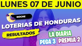 Sorteo 8PM Loto Honduras, La Diaria, Pega 3, Premia 2, Lunes 7 de Junio del 2021 | Ganador ????????????????