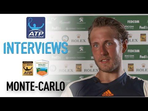 Pouille Discusses Comeback Over Cuevas At Monte-Carlo 2017