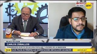 """Carlos Zeballos: """"No compartimos propuesta de anular elecciones"""""""