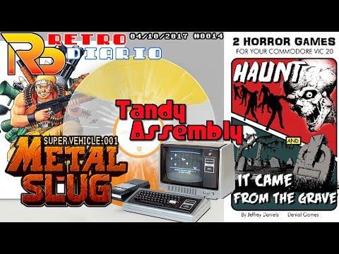 RetroDiario Noticias Retro (04/10/2017) #0014 - Metal Slug Vinilo, Atari, VIC20 y próximos eventos