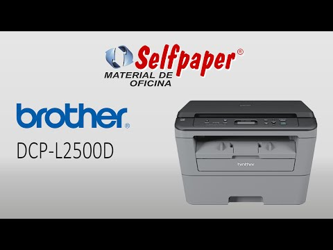 Brother DCP-L2500D, video HD, www.selfpaper.com