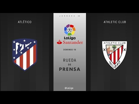 Rueda de prensa Atlético vs Athletic Club