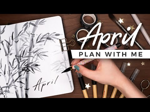 PLAN WITH ME | April 2021 Bullet Journal Setup