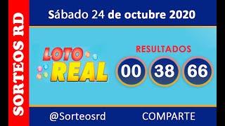 Loteria Real en VIVO   / Sábado 24 de octubre 2020