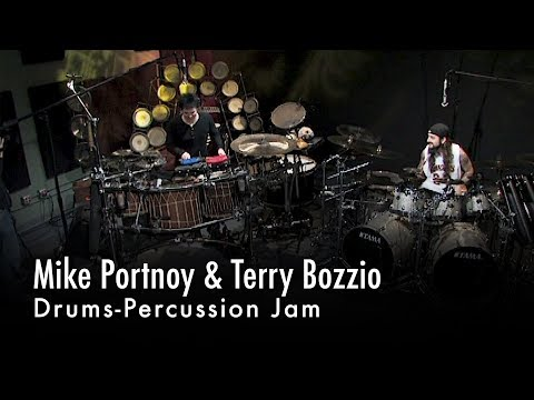 Mike Portnoy & Terry Bozzio Drums-Percussion Jam
