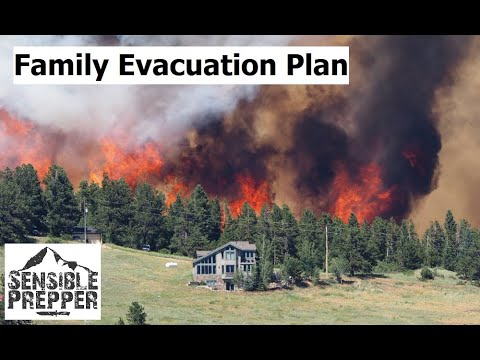 Family Emergency Evacuation & Escape Plan