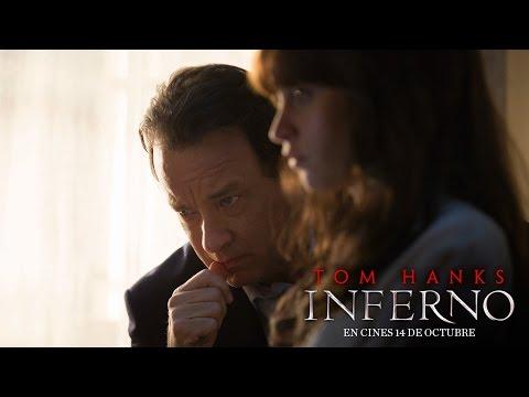 INFERNO. Protagonizada por Tom Hanks. En cines 14 de octubre.