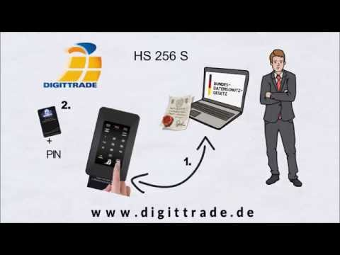 Die externe hochsichere Festplatte DIGITTRADE HS256S einfach erklärt
