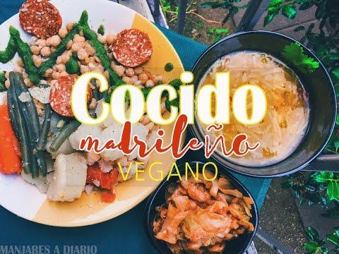 Cocido Madrileño Vegano: Para Comer, Opíparamente!!!