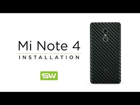 Slickwraps Xiaomi Redmi Note 4 Installation Video