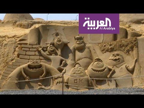 صباح العربية | متحف للرمال في الغردقة