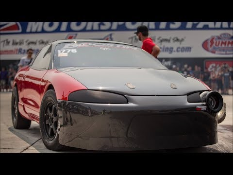 "1800+HP Stick Shift 4 Cylinder 215 MPH! - ""Red Demon"" The Most INSANE DSM of all time!"