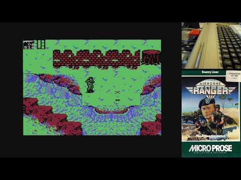 Airborne Ranger - Parte 3 - Serie de Juegos Épicos en Commodore 64 real #Commodore64 Full