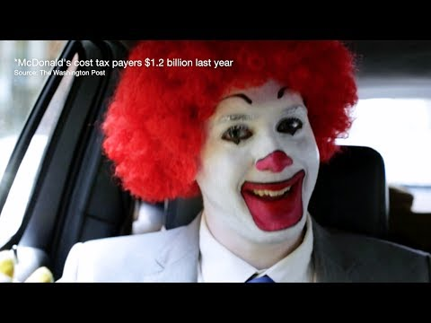 Stop the Greedy Clown! • BRAVE NEW FILMS