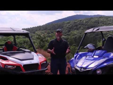2017 Yamaha Wolverine R Spec vs Polaris General Deluxe