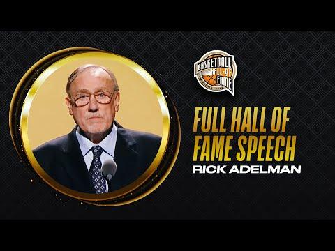 Rick Adelman   Hall of Fame Enshrinement Speech