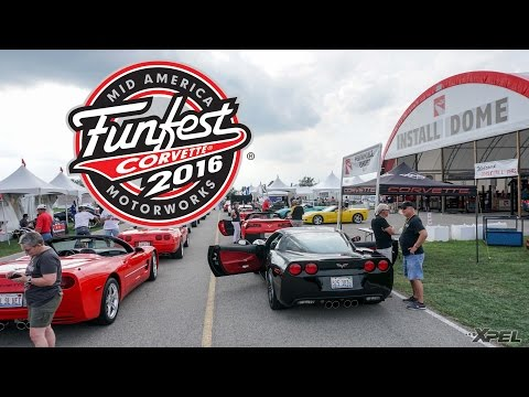 Corvette Funfest 2016 with XPEL and Clear Auto Bra