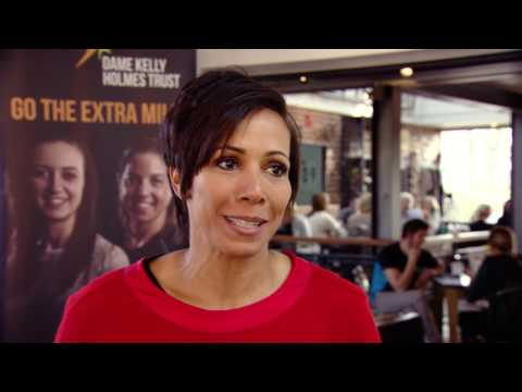 Dame Kelly Holmes accepts £20,000 charitable donation from Southeastern
