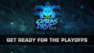 Dota 2 Get Ready For The Playoffs! (XMG Captains Draft 2.0)