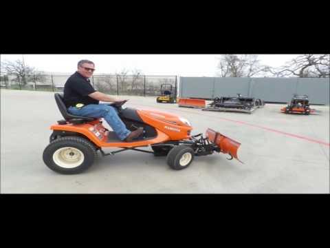 Kubota GR2120 garden tractor for sale | no-reserve Internet auction April 19, 2017