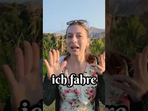 Clase de alemán    diferencia entre GEHEN y FAHREN